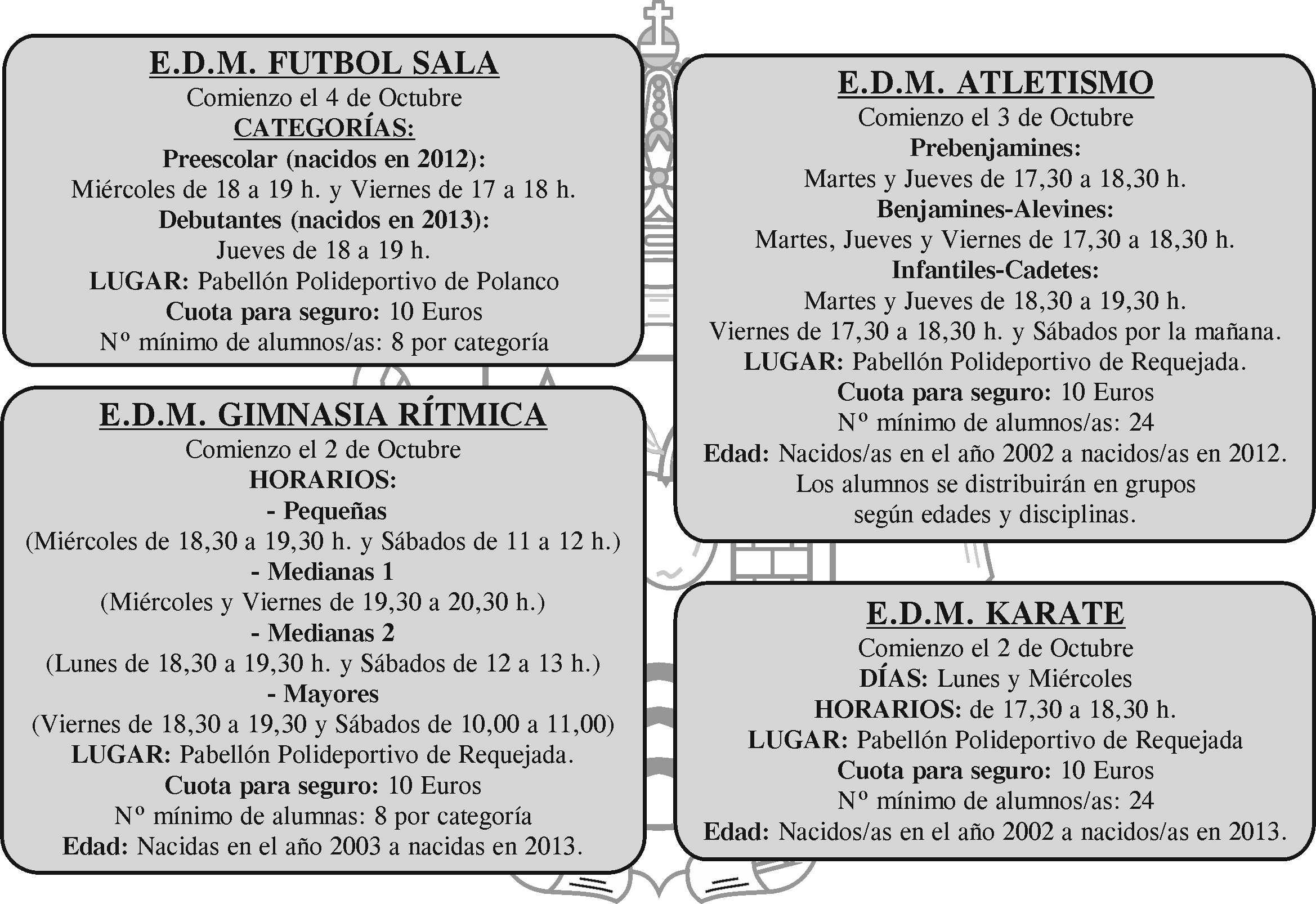 Escuelas deportivas Municipales 2017   2018 – Deporte de Polanco 5dac7c60b6d20